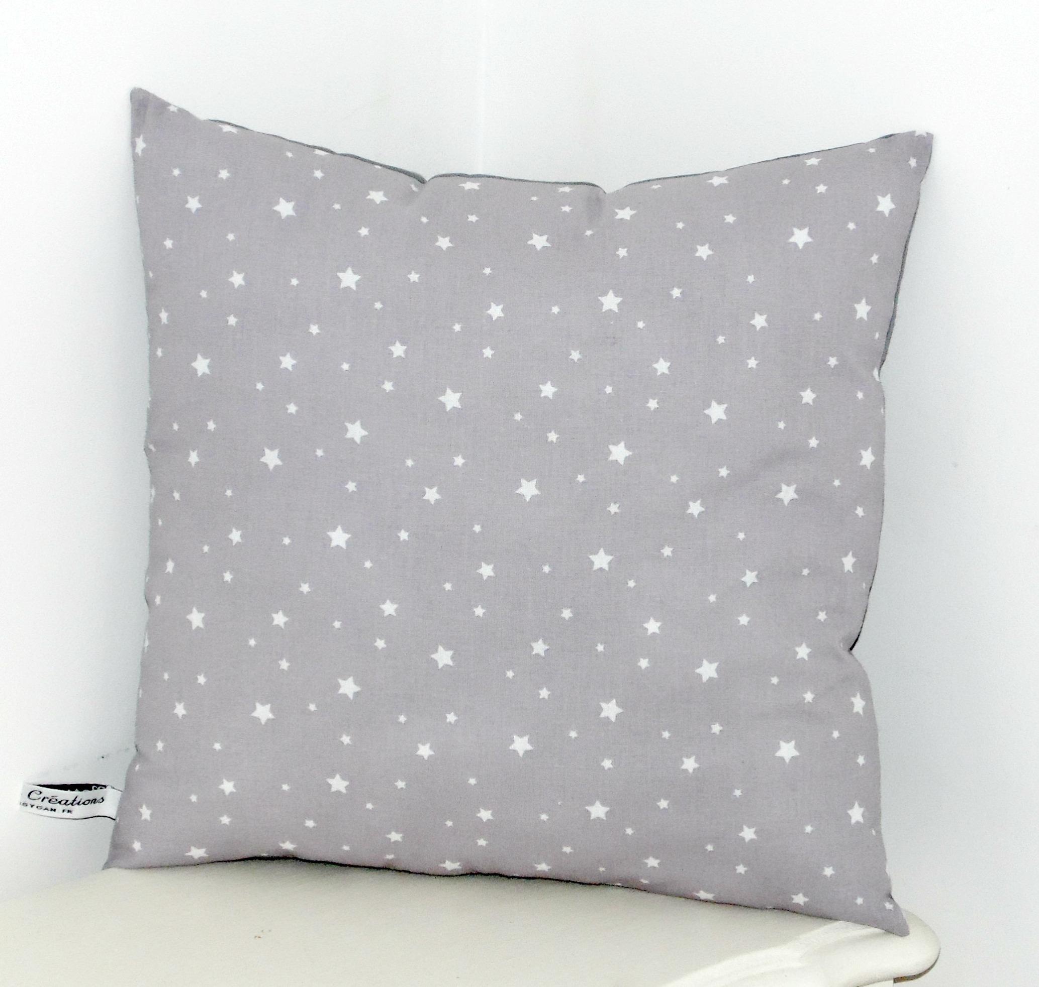 Coussin étoiles
