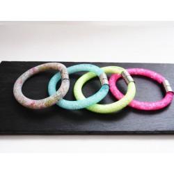 Bracelet résille tubulaire couleurs aux choix