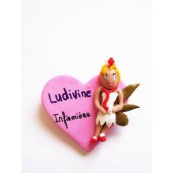 """Badge pour infirmière, aide-soignante, sage-femme """"Fairy """""""