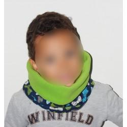 """Snood polaire pour enfant """" Noeuds pap """""""