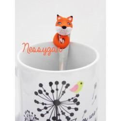 """Petite cuillère personnalisée """" Little Fox """""""