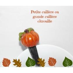 """Petite cuillère ou grande cuillère """" Citrouille """""""