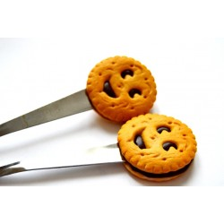 Petite cuillère gourmande biscuit smile