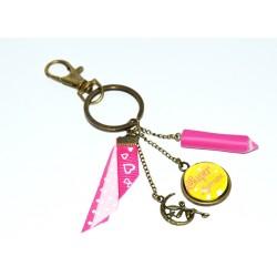 """Porte-clef """"Super marraine"""" - cadeau personnalisé"""