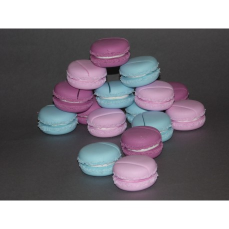 Marque-place macaron couleurs sweet