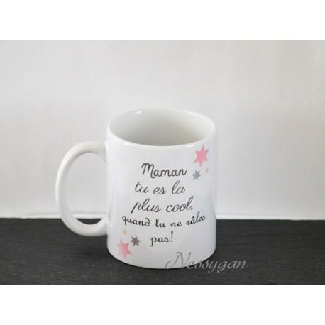 Assez Mug original personnalisé pour maman râleuse - Nessygan UA18