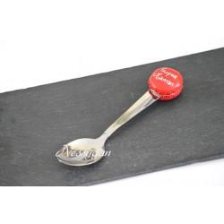 Petite cuillère personnalisée macaron - cuillère à thé, café , dessert