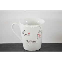 "Mug personnalisé "" merci maîtresse 20/20 """