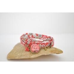 Bracelet liberty meadow Merci maîtresse !! - cadeau maîtresse