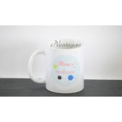 "Mug personnalisé "" Merci maîtresse """