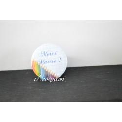 """Magnet crayons de couleurs """"Merci maître !"""""""