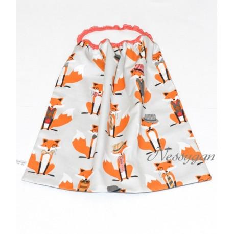 serviette de table lastiqu e mister fox pour enfant nessygan. Black Bedroom Furniture Sets. Home Design Ideas