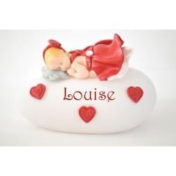 """Veilleuse personnalisée led """"Mon petit coeur"""" pour bébé"""