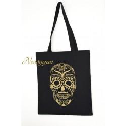 """Tote bag personnalisé """"Skull """""""