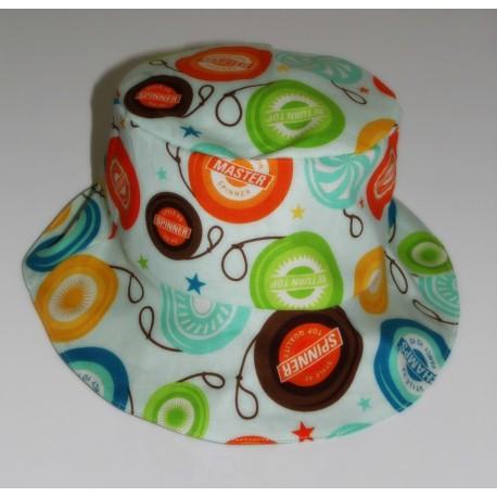 """Bob pour enfant chapeau de soleil """" Yo-yo's"""" multicolores"""