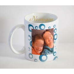 "Mug personnalisé avec photo "" circle """