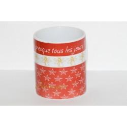 """Mug de Noël """" J'ai été sage presque tours les jours ! """""""