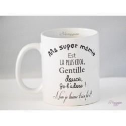 Mug d'une super Mamie