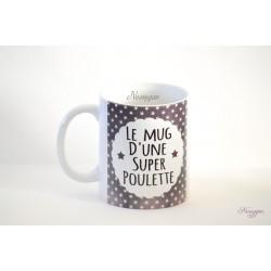Le mug d'une super poulette