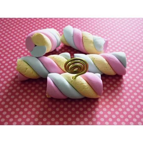 Marque-place bonbon pour un thème gourmand mariage, baptême, communion