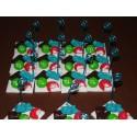 Marque-place assiette de bonbons pour un mariage, baptême, anniversaire