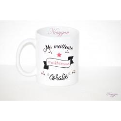 """Mug """" Ma meilleure maîtresse """""""