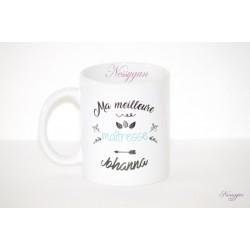 """Mug """" Ma meilleure maîtresse """" modèle2"""