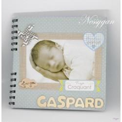 Album photo personnalisé bébé