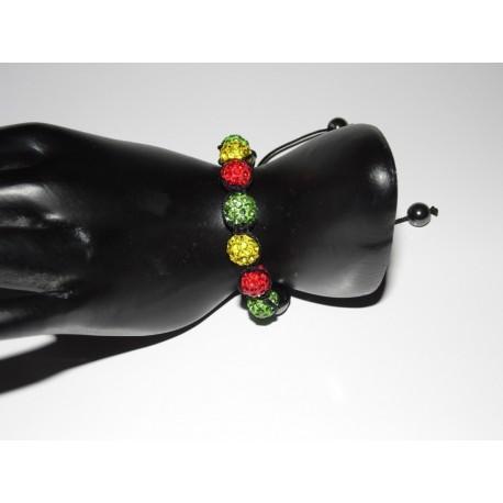 Bracelet shamballa couleurs aux choix