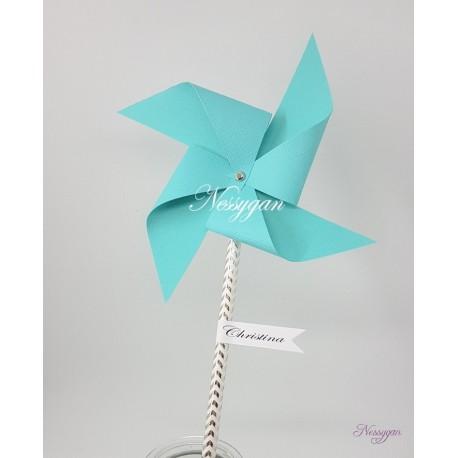 Marque-place moulin à vent