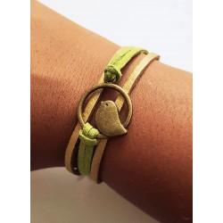 Bracelet suédine et zozio