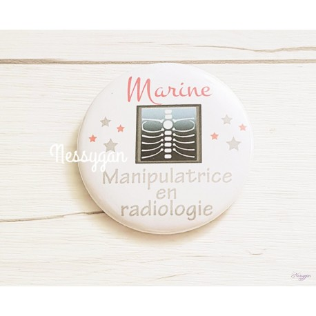 Badge Manipulatrice en radiologie