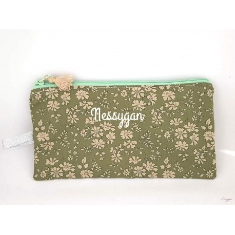 Trousse Liberty capel kaki