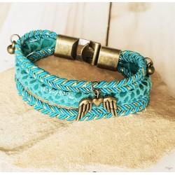 Bracelet bleu Outre-mer