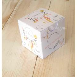 Boîte à dragées Attrape rêve ( dreamcatcher)