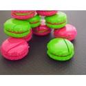 Marque-place couleurs aux choix macaron pour un mariage, baptême, communion