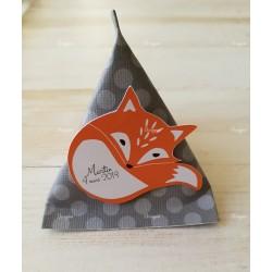 Boîte dragées berlingot Foxy le renard