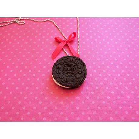Sautoir biscuit Oreo