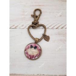 Porte-clef je t aime maman