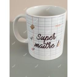 Mug personnalisé Super maître