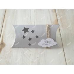 Boîte à dragées thème étoiles et nuage
