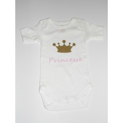 "Body bébé ""Princesse"""