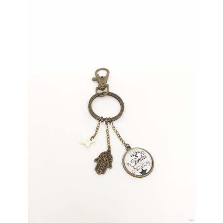 Porte clef Main de Fatma Tendre Nounou
