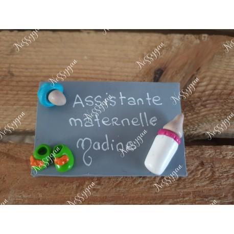 Badge pour auxiliaire de puériculture, sage-femme, aide-soignante