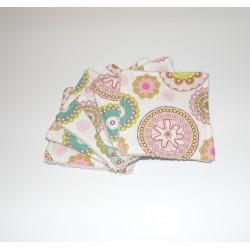 Lingettes lavables démaquillantes ou pour bébé x6