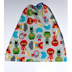 """Serviette de table élastiquée maternelle """" Super kids"""""""