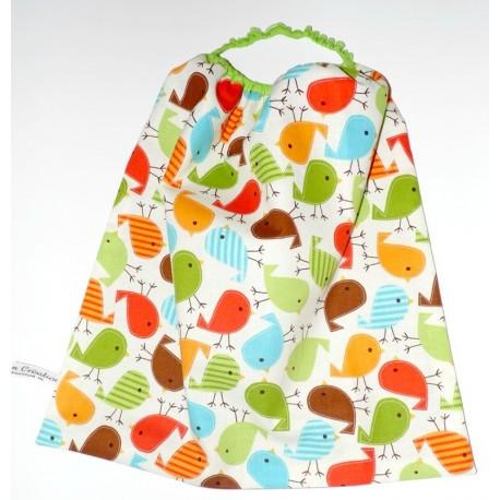 """Serviette table avec élastique """" Zozio's multicolores"""""""
