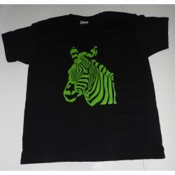 Tee-shirt personnalisé zèbre pour enfant