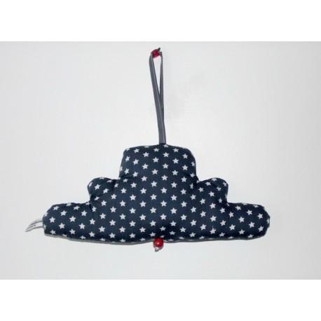Mobile musical bébé nuage étoilé