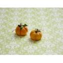 """boucles d'oreilles """"Pumpkins """" citrouille"""